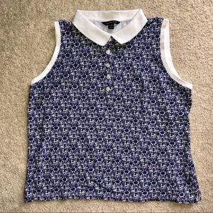 Lands End | printed collared tank